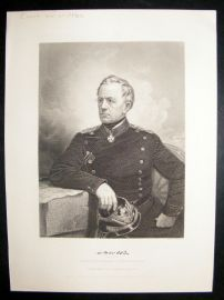 Count Von Moltke 1873 Antique Portrait Print